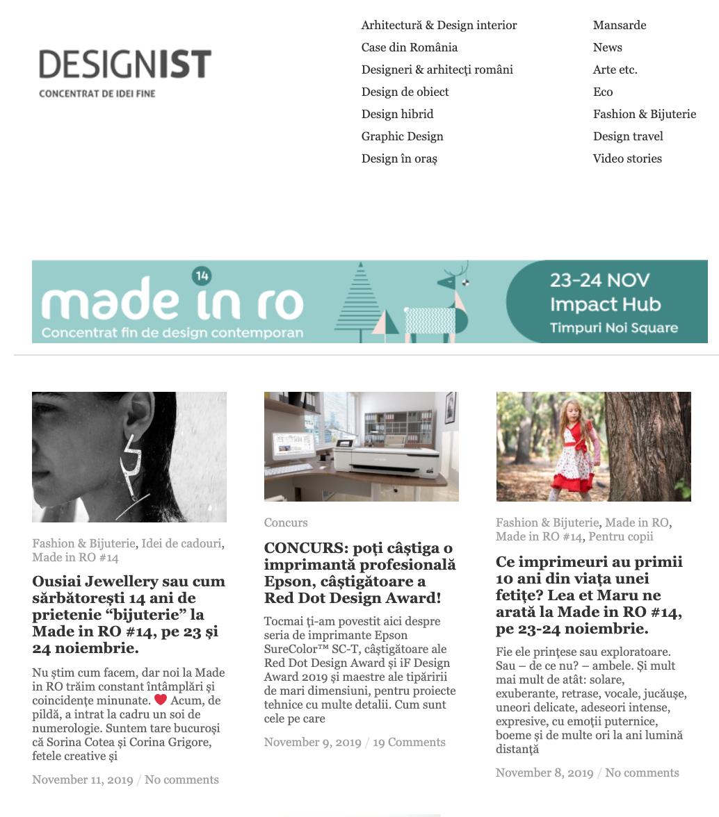 designist.ro | November 2019